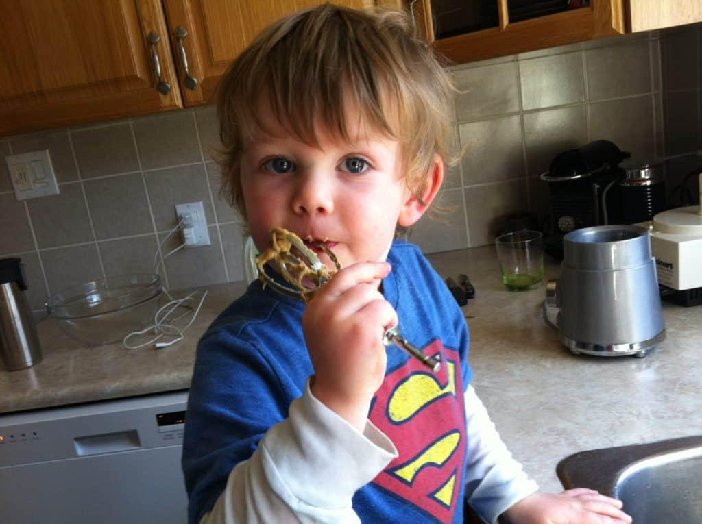 son-eating-cookiedough
