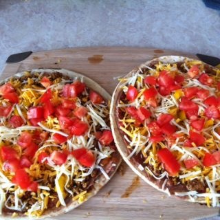Quick, Easy Turkey Taco Pizza