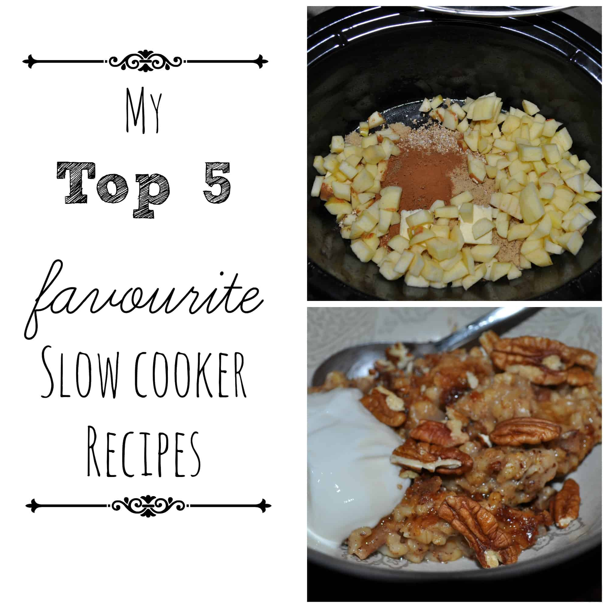 My Top Five Slow Cooker Recipes