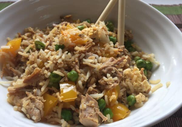 Clean-Out-The-Fridge Fried Rice