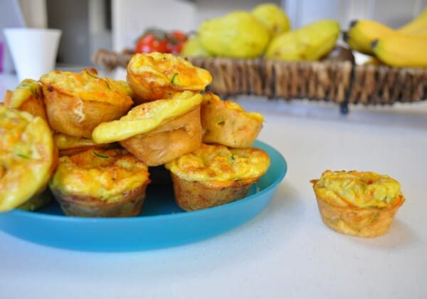 Quick and Easy Muffin Tin Omelettes