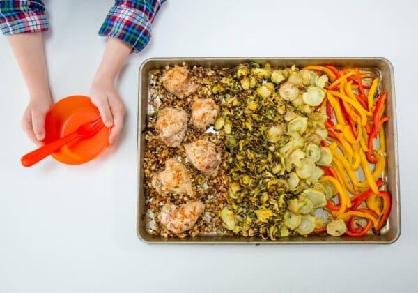Easy Weeknight Recipe: Two-Pan Thai Chicken Veggie Bowls