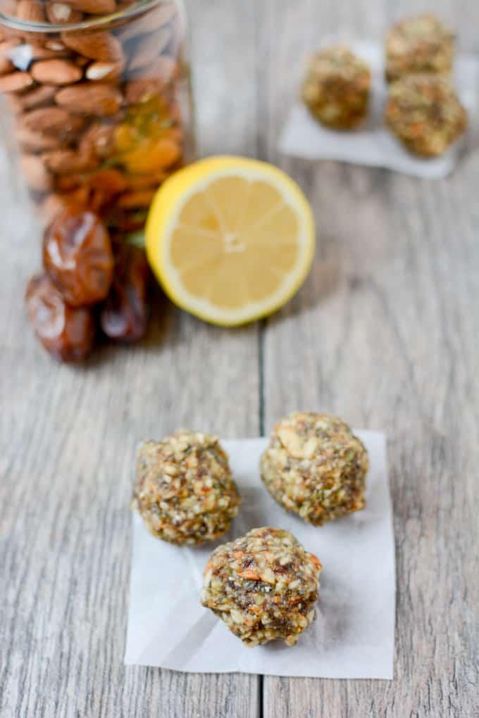 lemon energy balls recipes for kids