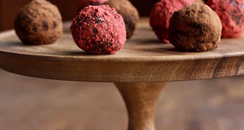 chocolate truffle energy balls recipes for kids