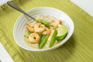 Easy, One-Pan Thai Prawn Green Curry