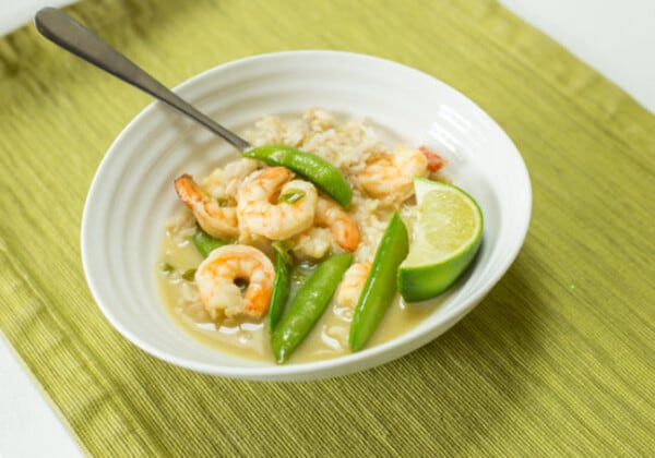 Easy, One-Pan Thai Prawn Green Curry