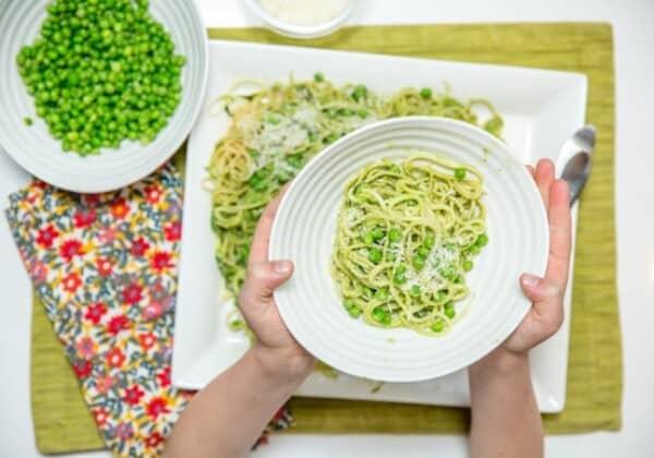 "Easy and Nutritious ""Superhero"" Green Pasta Recipe"