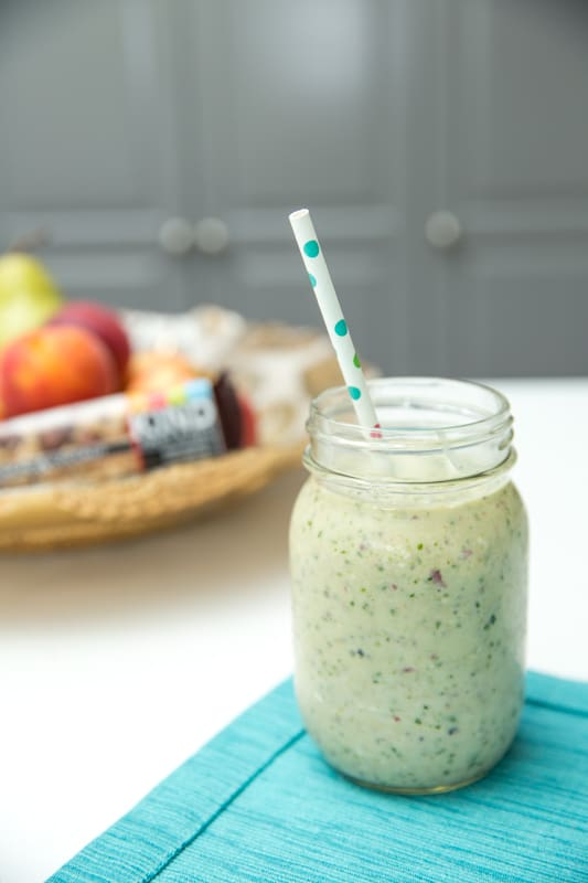 Kid-Approved Tropical Green Smoothie