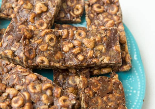 Chocolate Whole Grain Snack Bars (No-Bake & School-Safe!)