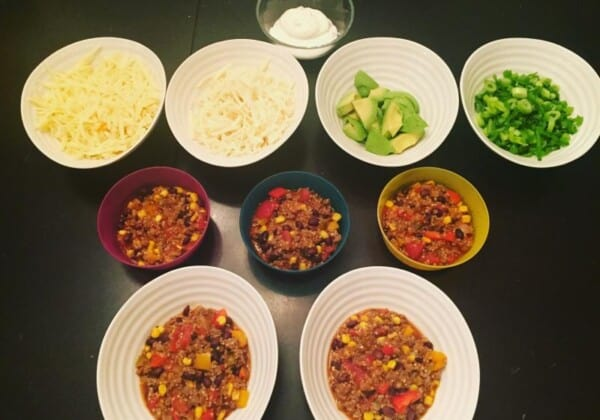 Weeknight One-Pan Burrito Bowls