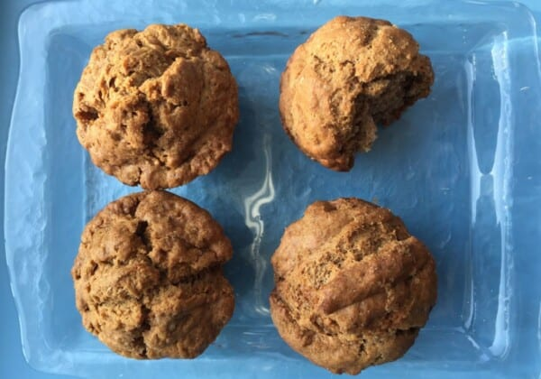Easy, Healthy Gingerbread Muffins