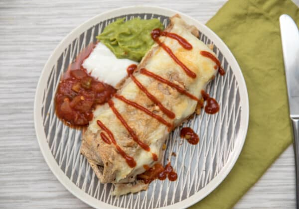 Easy Egg Burrito Bake