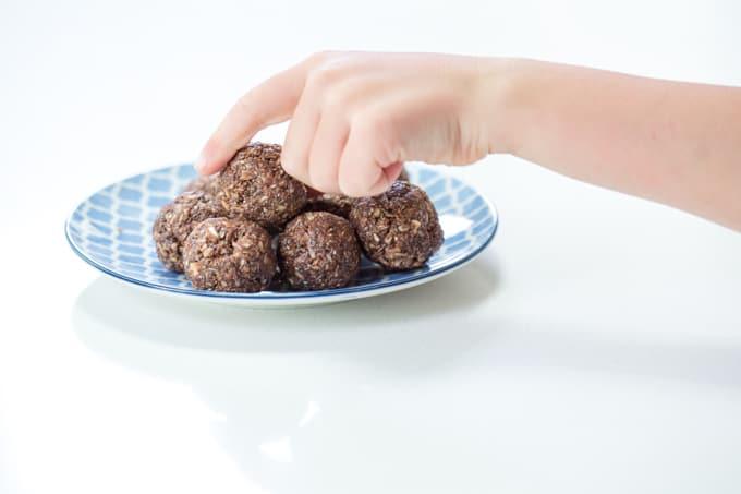 Energy balls recipes for kids