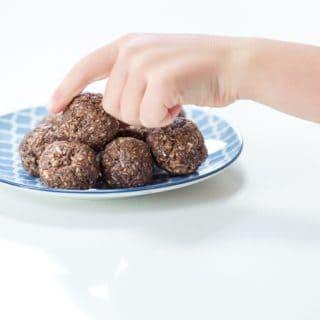 Choco-Chia Protein Bites