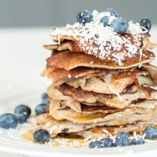 3-Ingredient Flourless Banana Pancakes
