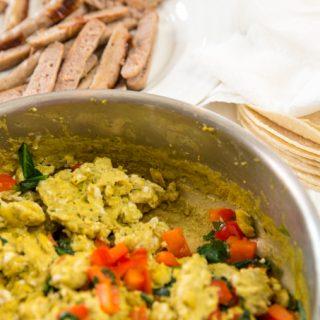 Gluten-Free Baked Breakfast Taquitos