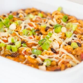 One-Pot Vegetarian Mexican Mac and Cheese