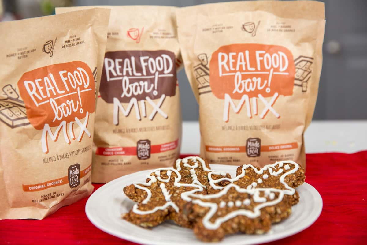 Made with Local Original Goodness Real Food Bar Mix