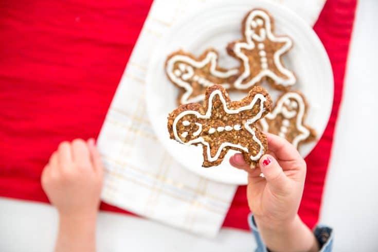 Healthy Homemade Gingerbread Cookies