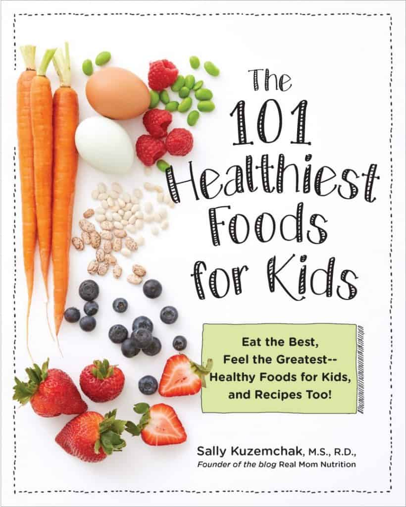 Book Cover for The 101 Healthiest Foods for Kids