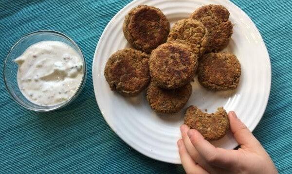 Kid-Friendly, Easy Vegan Lentil Nuggets