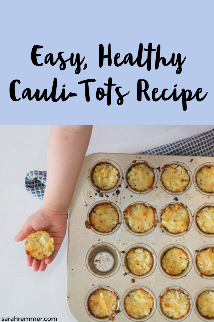 Easy, Healthy Cauli-Tots Recipe