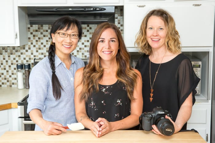 Sarah Remmer recipe development and photography team