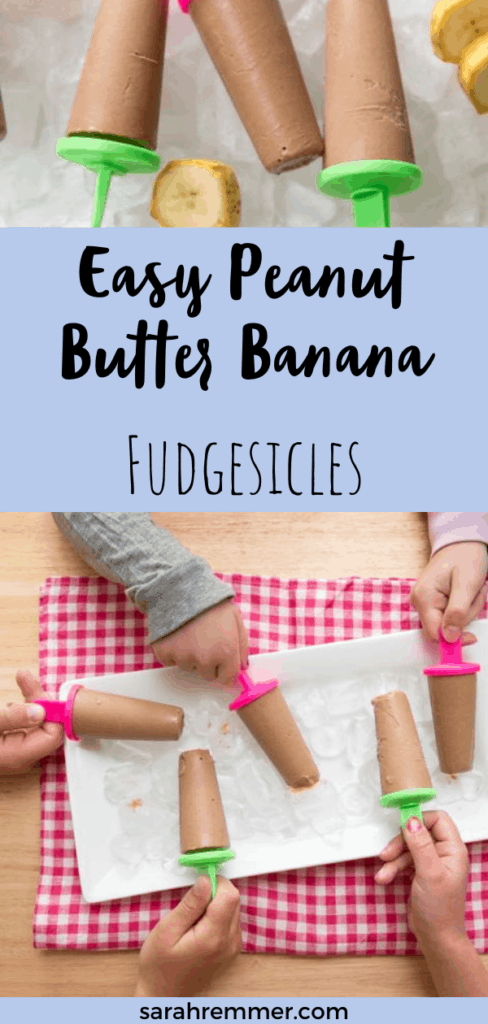 pinterest pin for healthy fudgesicles