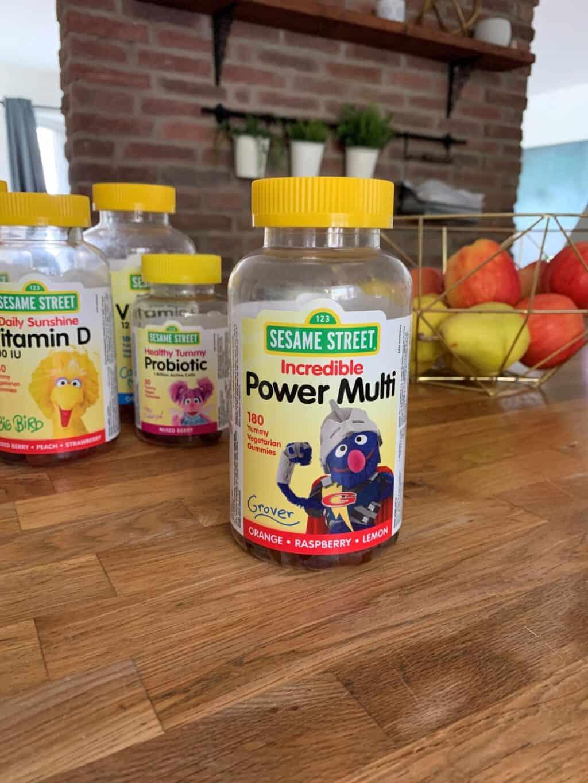 bottles of multivitamins, vitamin D