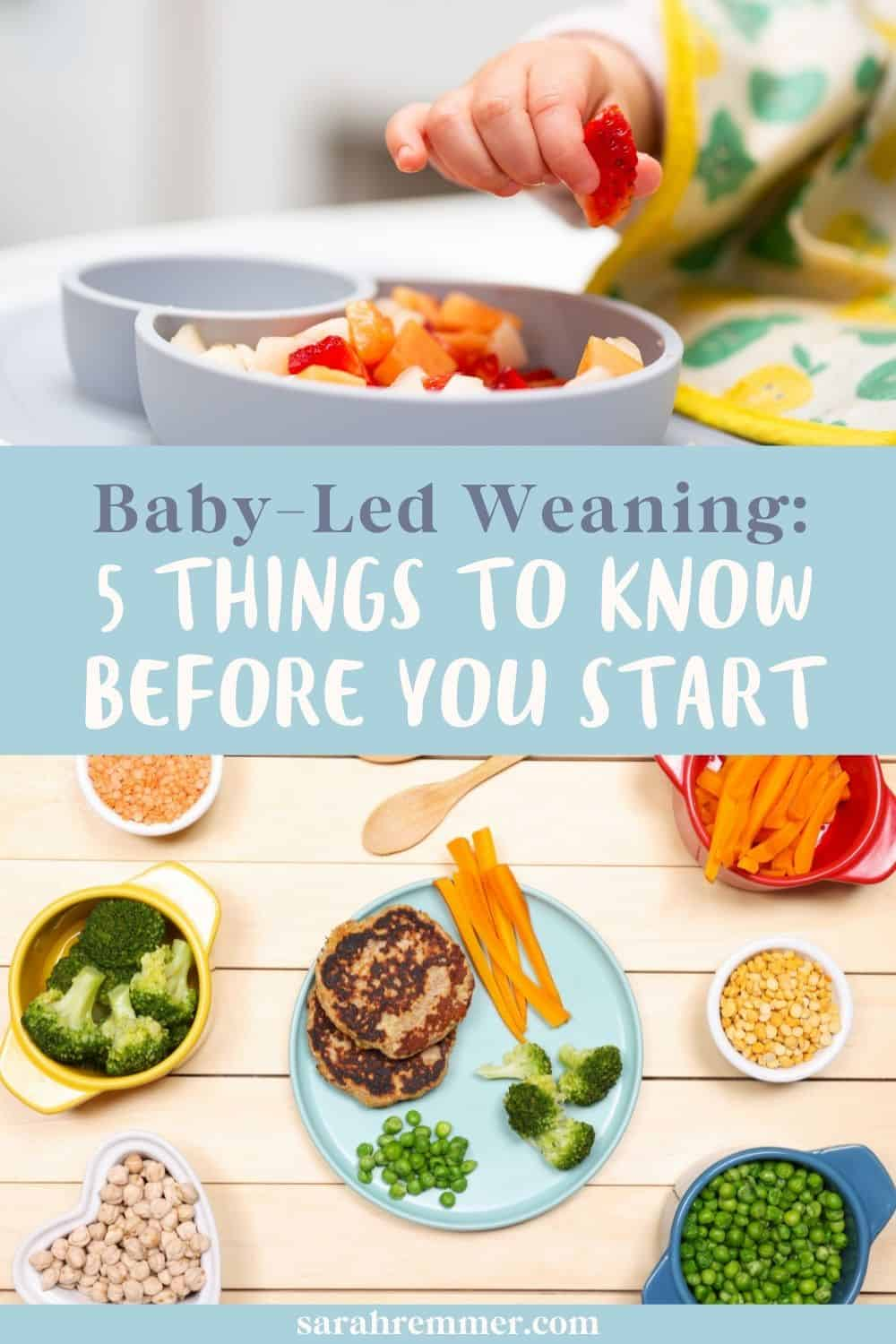 Baby-Led Weaning 5 Things to Know Before you Start
