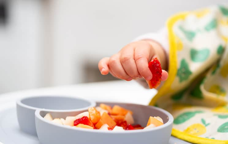 baby led weaning pincer grasp