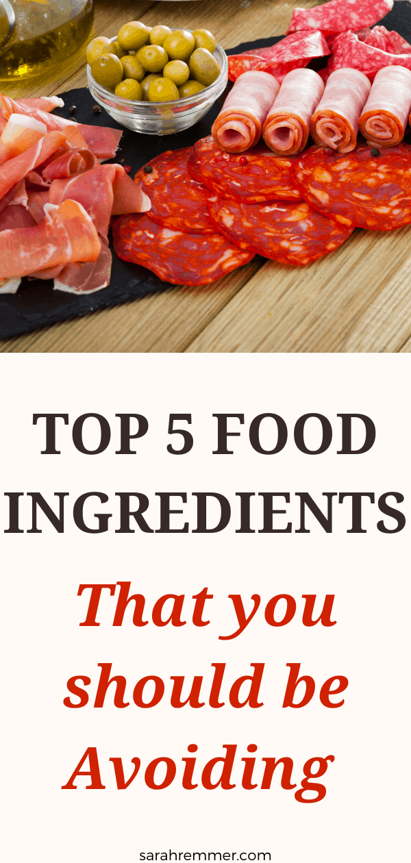 Here are the food ingredients you should avoid.