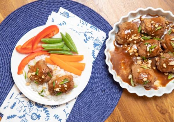 One-Pan Peanut Sesame Chicken