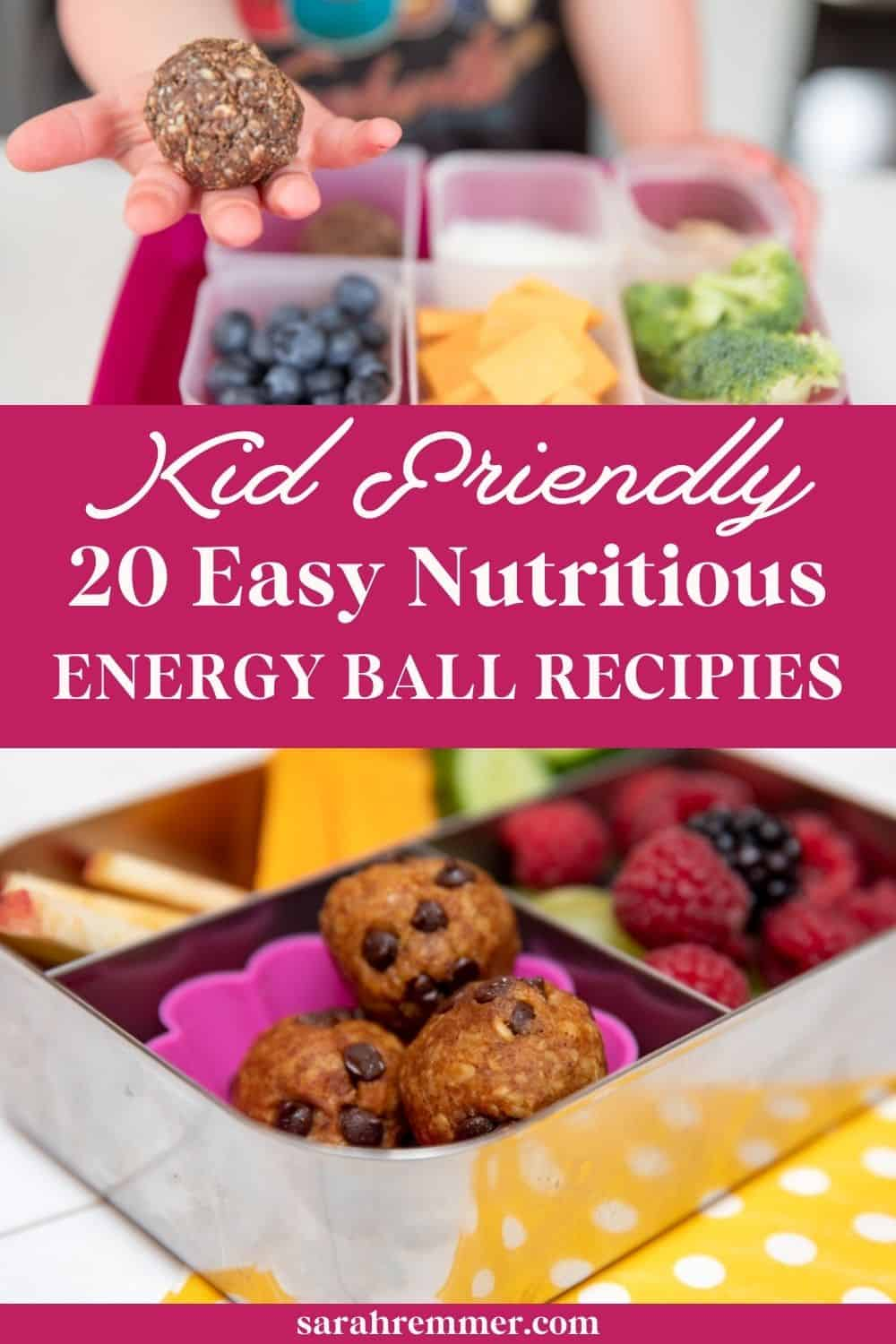 Energy balls are the perfect healthy, homemade snack for kids. To inspire you, here's 20 of my favourite energy protein ball recipes that kids love.