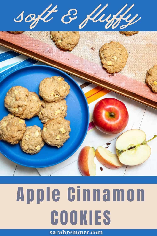 Soft & Fluffy Apple Cinnamon Cookies