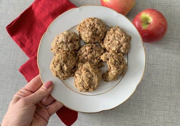 Soft and Fluffy Apple Cinnamon Cookies