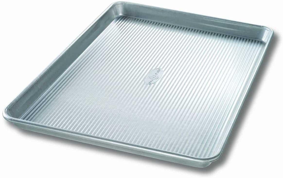 USA Pan Bakeware Extra Large Sheet Pan, Warp Resistant Nonstick Baking Pan