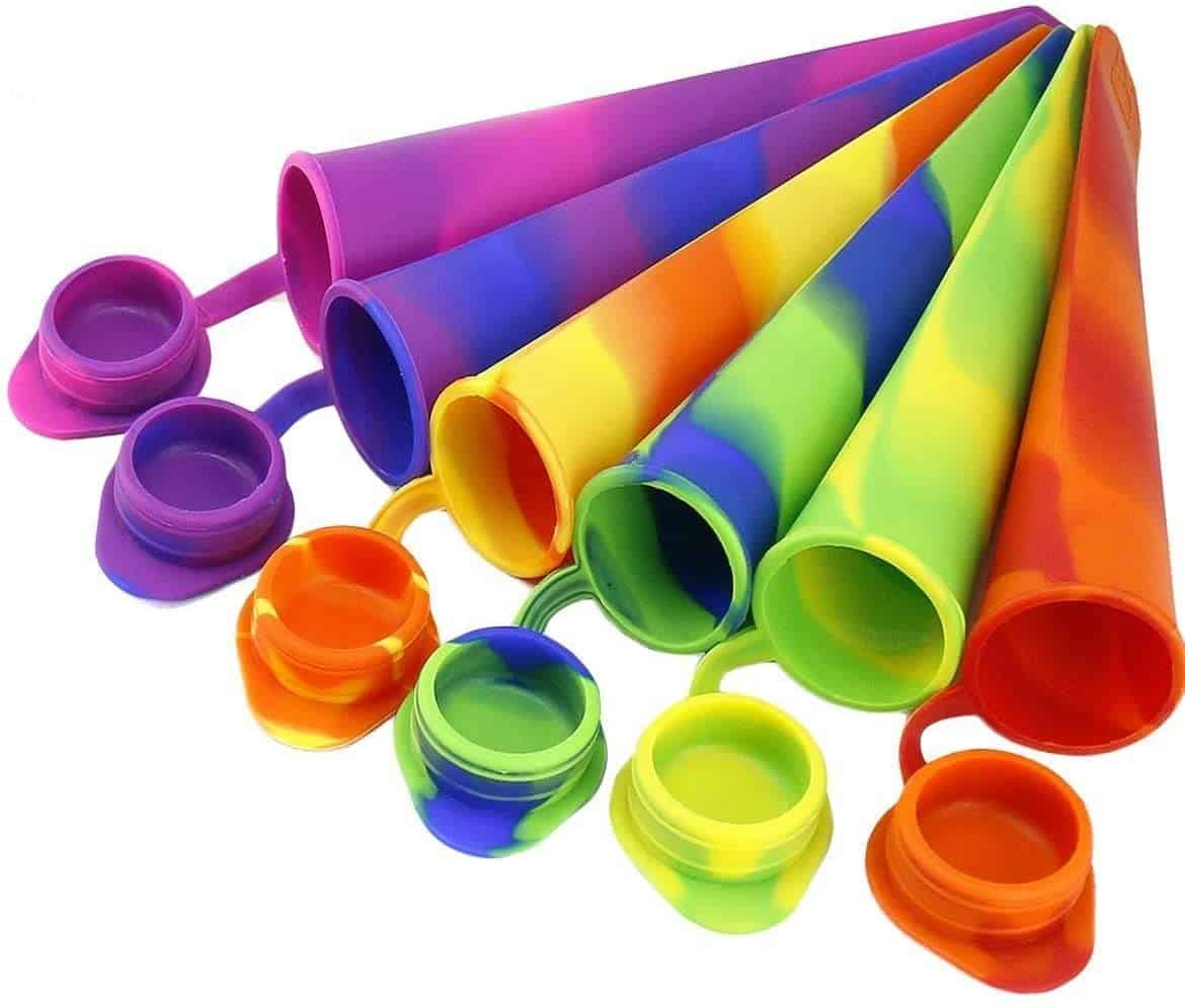 Joyoldelf Popsicle Moulds - Party Pack of 6 Silicone