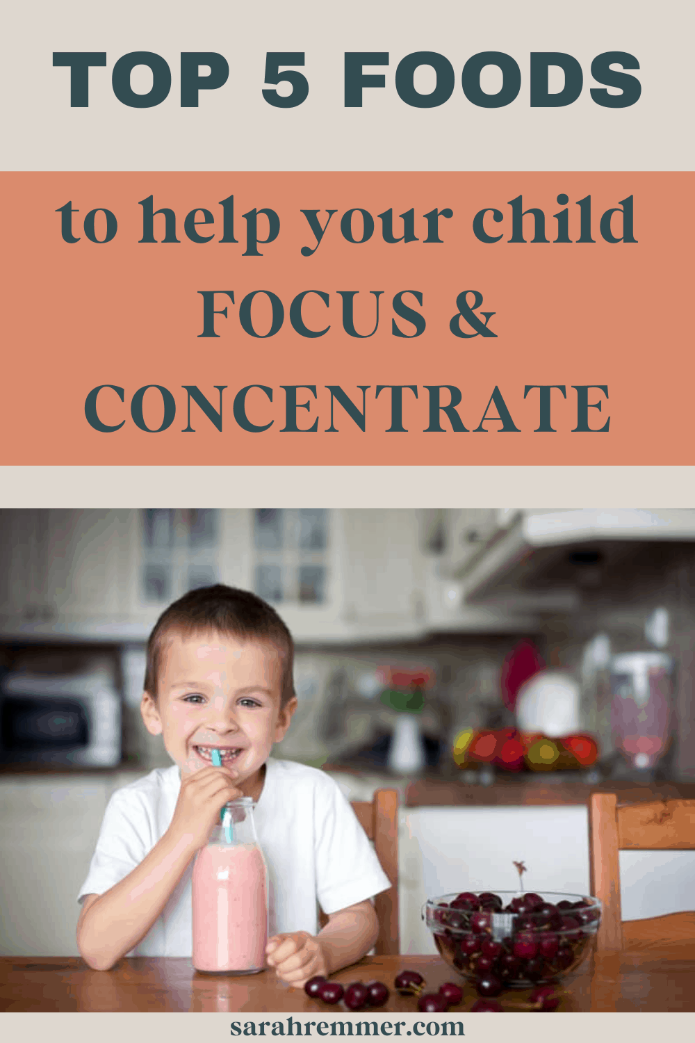 Food is the fuel that our bodies use to function, think, play, and work. Of course, kids' attention spans are short in the best of times, but there are foods to help your child focus and concentrate.