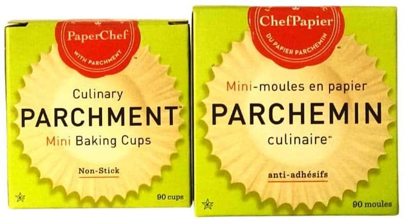 CULINARY PARCHMENT MINI MUFFIN CUPS