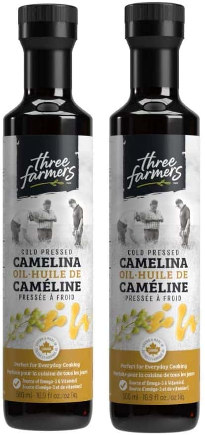 Three Farmers Cold-Pressed Camelina Oil 2 Pack (500ml)