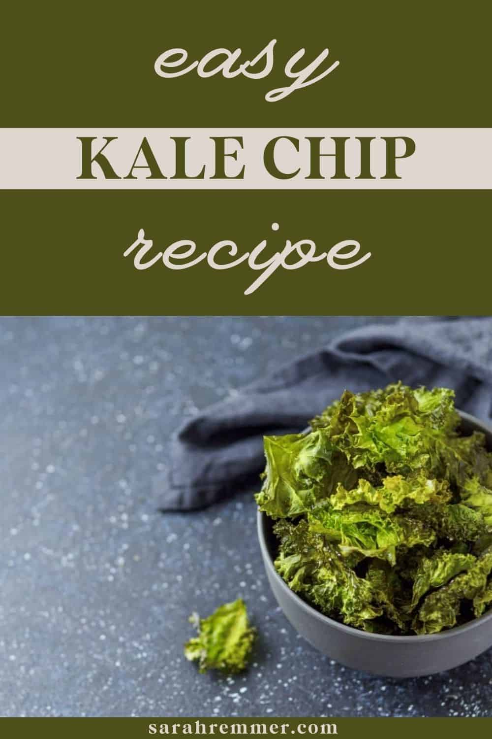 """I just recently started hearing the buzz about """"Kale Chips""""! To be honest, the first thing I thought when I heard the term Kale Chips was """"how the heck can Kale- a leafy green vegetable- be made into a crispy, tasty chip?!"""". I was quite skeptical about how this """"chip"""" would taste. I'm all about healthy greens, but really?! I pictured a wilted, soggy, dull green-colored finger food... I was so wrong!"""
