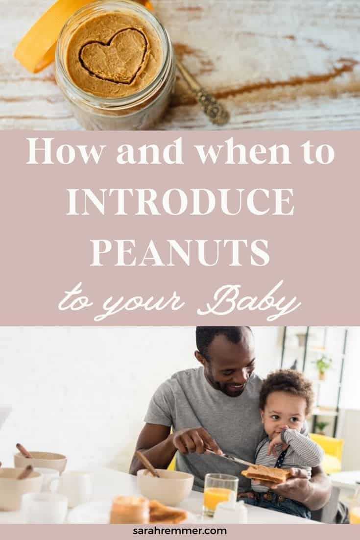If you're wondering (and maybe a little bit anxious) about how to introduce peanuts to your little one, but don't know where to start, I've got you covered. Here's everything you need to know from a pediatric dietitian!