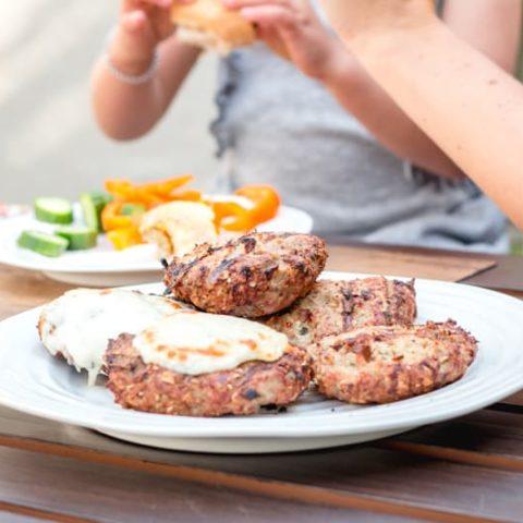turkey mushroom burger recipe that kids will love