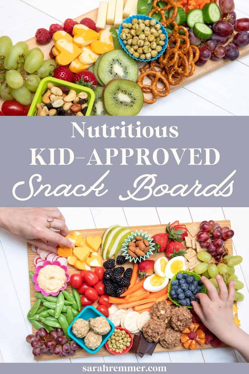 Want an easy and fun meal or snack idea that both parents and kids alike are guaranteed to love? Try making these nutritious snack boards!