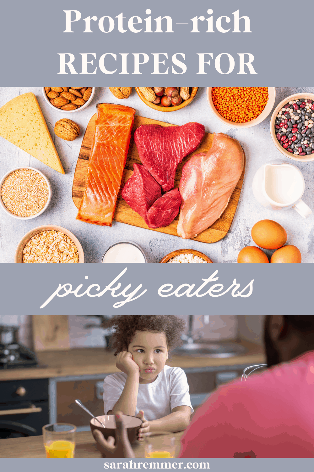 Learn why protein-rich foods are important for your child, how much they need and what to do if your child is a picky eater and struggling to get enough protein (plus: protein-rich meal and snack ideas to try!).