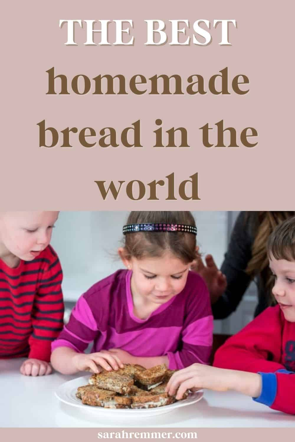 This bread was the only bread my grandmother consumed, and she made it every week! This homemade bread recipe is made with Red River cereal. This dietitian mom loves it, and so do my three kids!