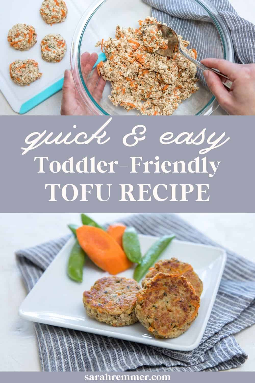 These toddler-friendly tofu nuggets are a surefire hit with kids and adults alike! If you're looking for a party appetizer to bring, this is it.