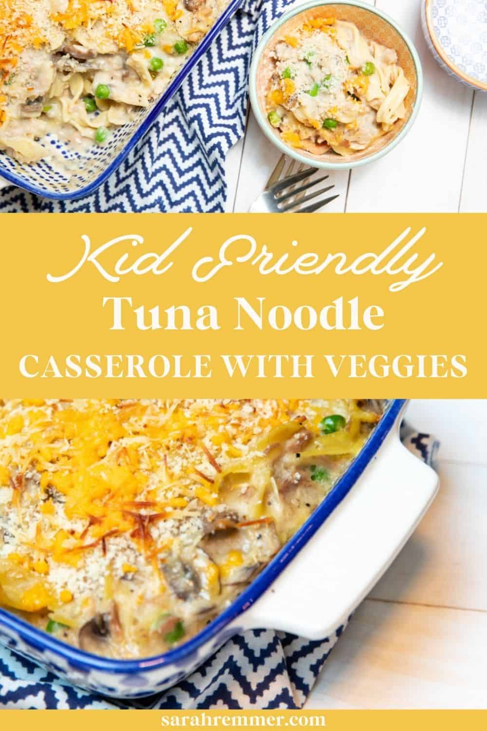 This delicious homemade tuna noodle casserole will quickly become a weeknight favourite.