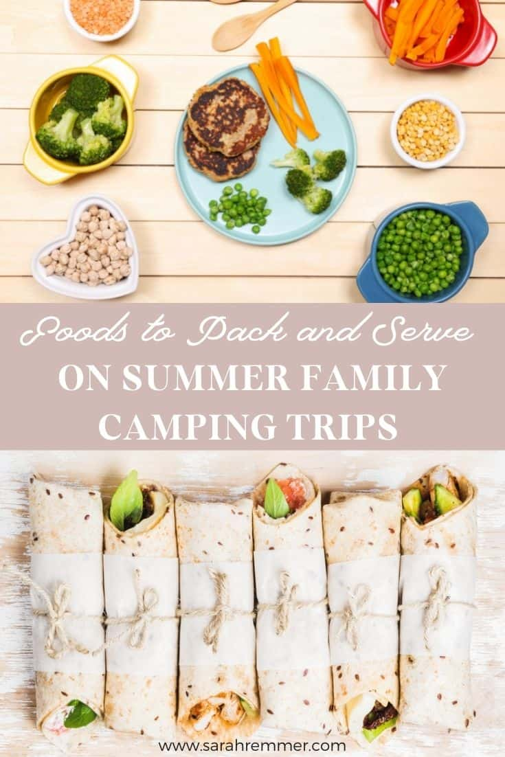 Summer is fast approaching, and family camping trips are a big part of the fun! It can be challenging enough to feed your family nutritious meals and snacks at home, let alone when you're on the road, or in a campground! Here are my top tips and tricks to help you keep your family well-nourished while camping.